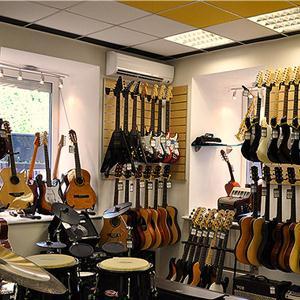 Музыкальные магазины Барзаса